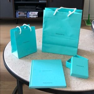 Tiffany's packaging and hardcover book